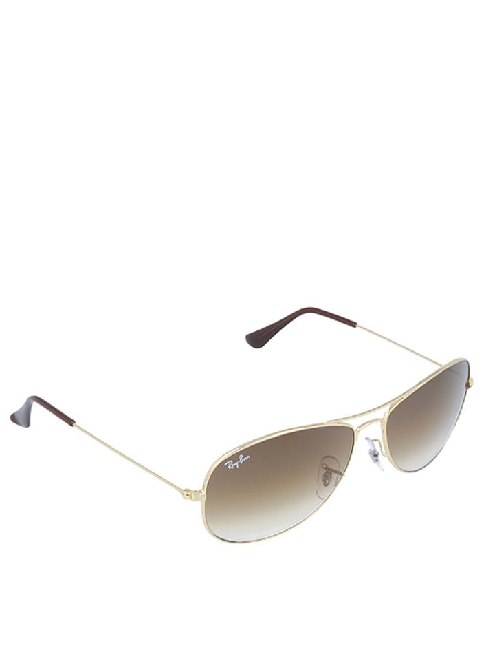 Ray Ban Herren-Sonnenbrille ´´Cockpit´´ in gold -28% | Größe 56 Sonnenbrillen Sale Angebote Terpe
