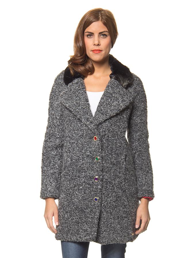 Desigual Mantel ´´Ambrosia´´ in schwarz -47%   Größe 42 Mäntel Sale Angebote Schipkau