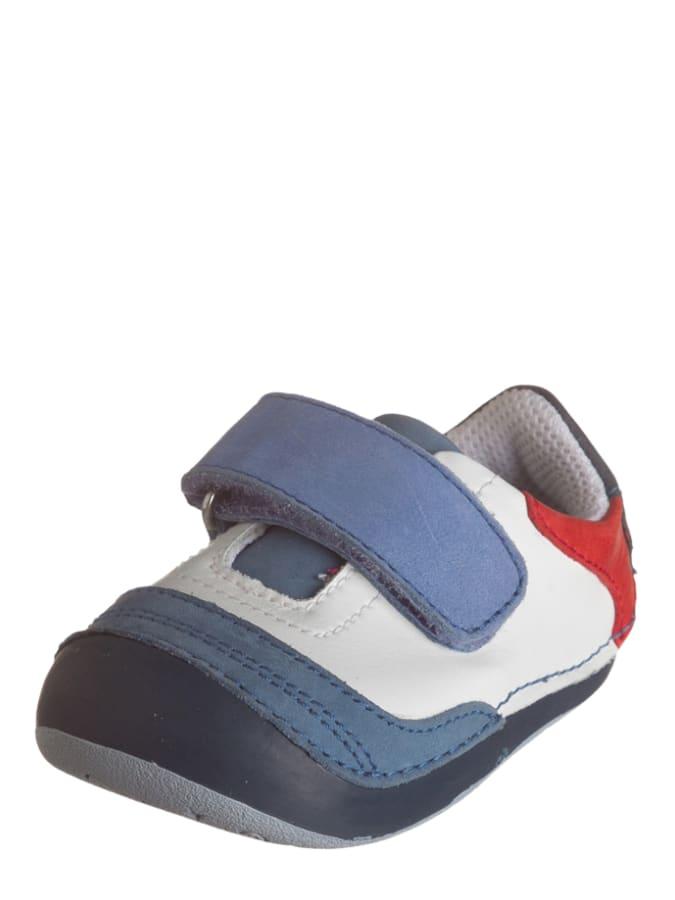 Lea Lelo Leder-Sneakers in blau -45% | Größe 20 Halbschuhe Sale Angebote Guhrow