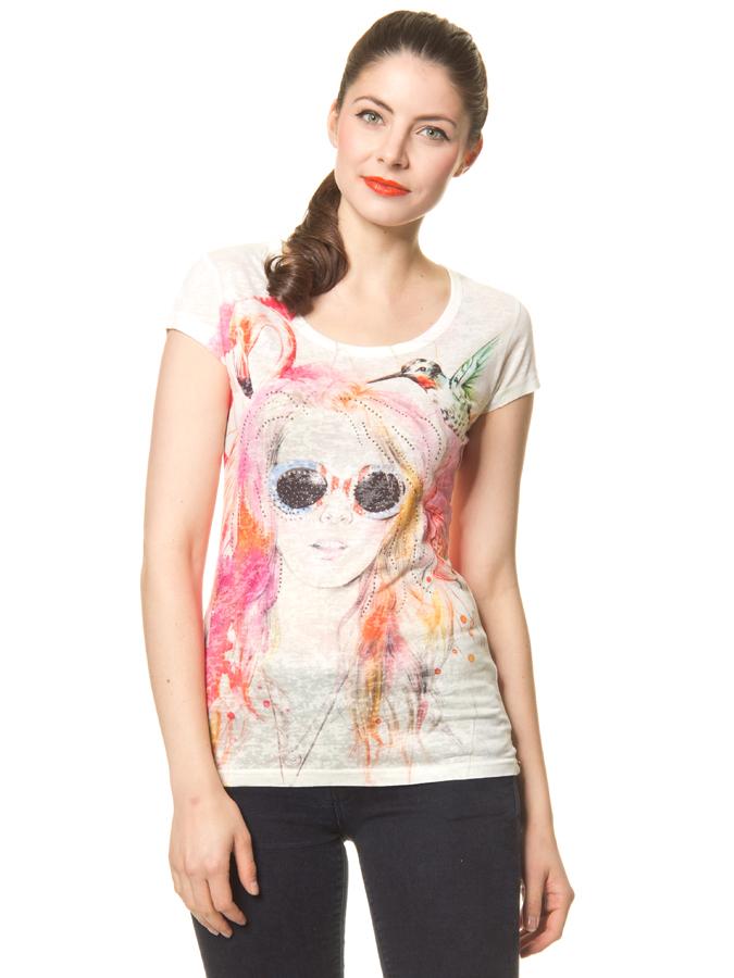 Calao Shirt in creme -60%   Größe XL T-Shirts Sale Angebote Gastrose-Kerkwitz