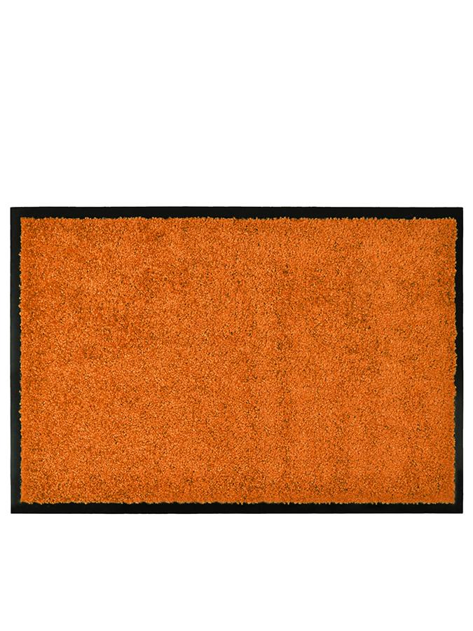 Hanse Home Fußmatte ´´Wash Clean´´ in Orange - 45 Größe 120x180 cm Teppiche fussmatten