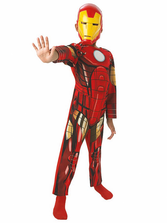 "Rubie`s 2tlg. Kostüm ""Iron Man Classic"" in Rot/ gold -18% | Größe 98/104 | Kostüme"