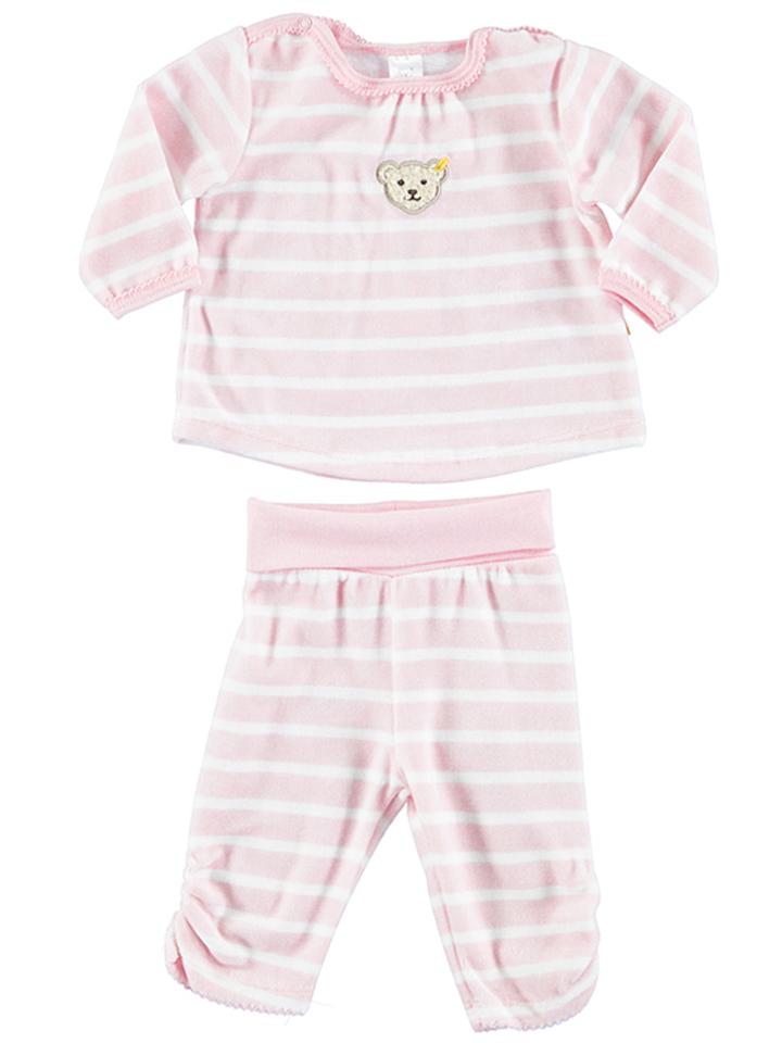 Steiff Pyjama in rosa -46 Größe 104 Pyjamas