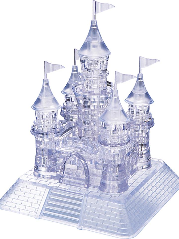 HCM 105tlg. Crystal Puzzle Transparentes Schloss - ab 14 Jahren - 28% | Gesellschaftsspiele