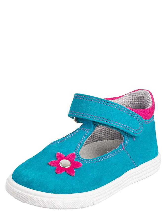 Richter Shoes Leder-Ballerinas in türkis -59% | Größe 26 Ballerinas Sale Angebote Bagenz