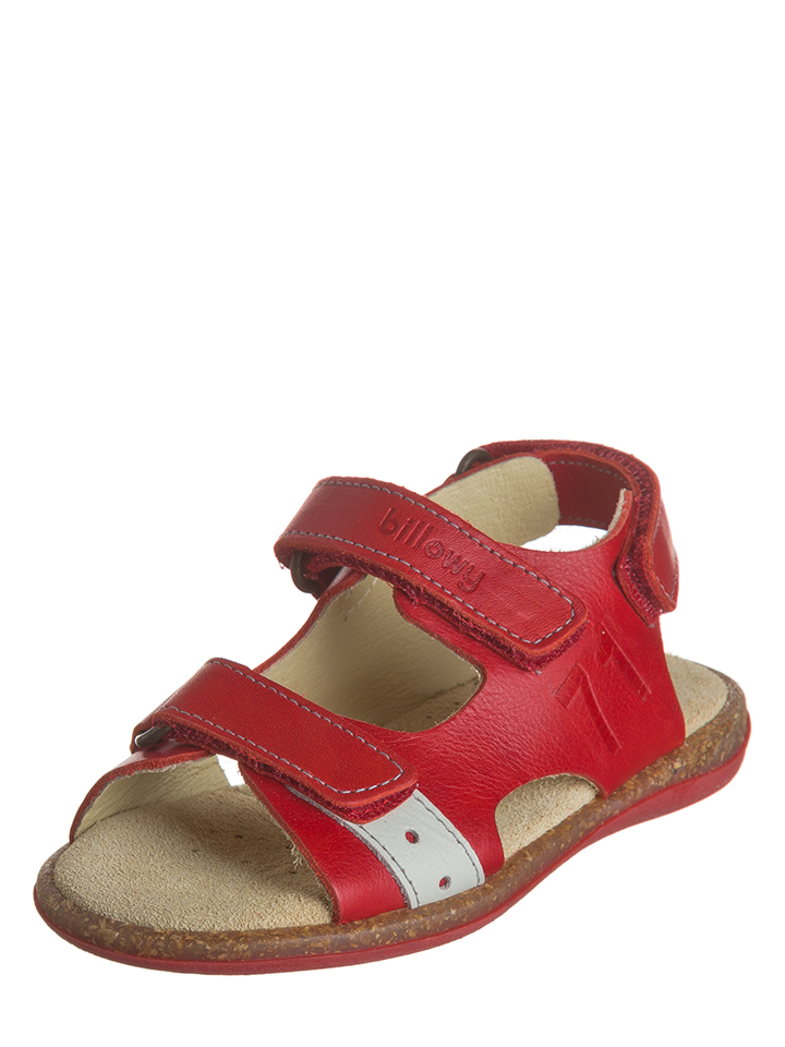 Billowy Leder-Sandalen in Rot - 78%   Größe 33 Kindersandalen - broschei