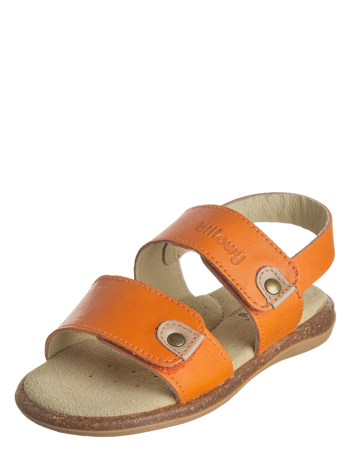 Billowy Leder-Sandalen in orange -68% | Größe 31 Sandalen