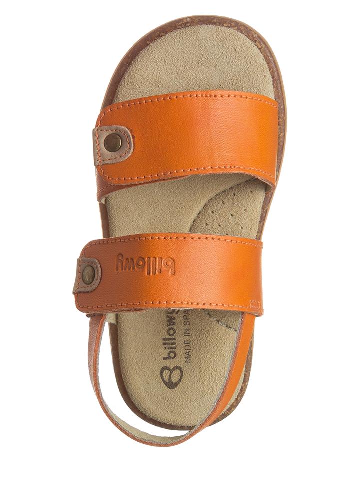 Billowy Leder-Sandalen in orange -74% | Größe 26 Sandalen