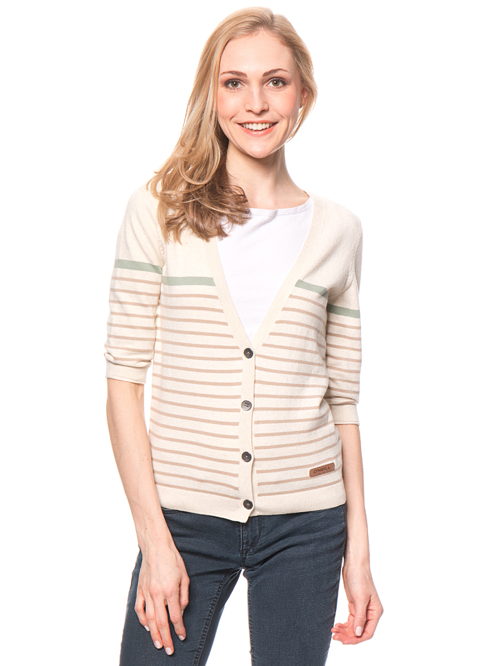 O`Neill Cardigan ´´Drifter´´ in Creme - 63% | Größe M Damen pullover - broschei