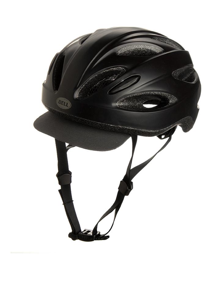 Bell Fahrradhelm ´´Piston Soft Brim 15´´ in Schwarz - 47% | Größe 54-61 cm Damen sportausruestung