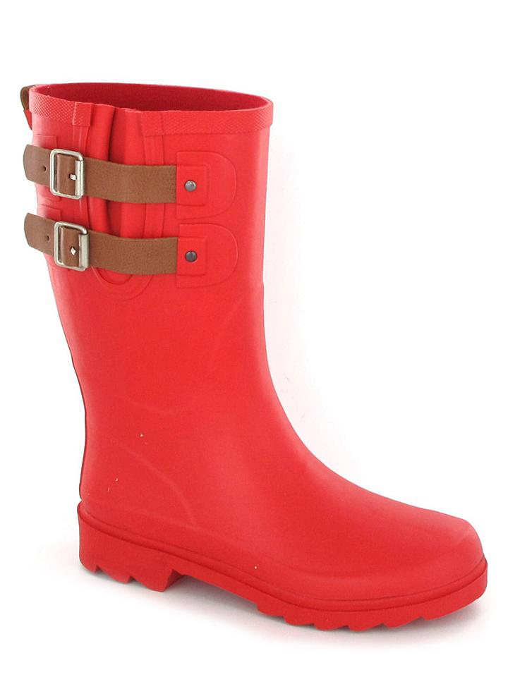 BE ONLY Gummistiefel Vicky in Rot - 65%   Größe 38   Damen outdoorschuhe