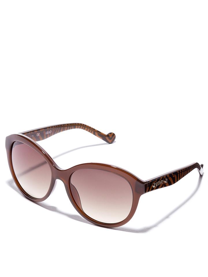 Liu Jo Damen-Sonnenbrille in Braun -51 Größe 57 Sonnenbrillen