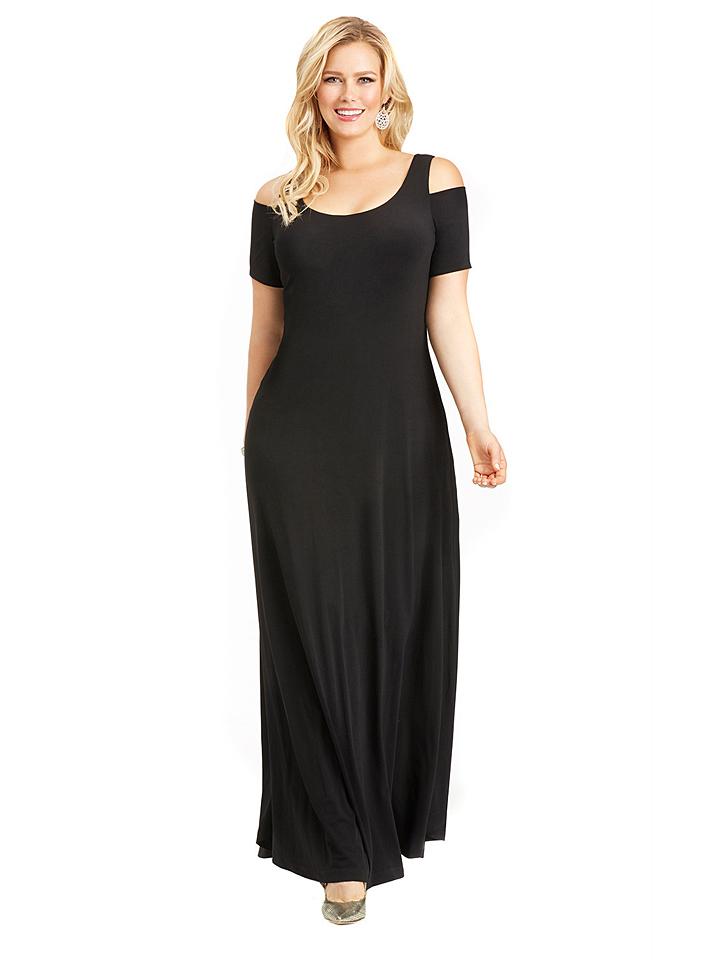 Rebecca Belle Kleid in Schwarz -69% | Größe 44 | Lange Kleider