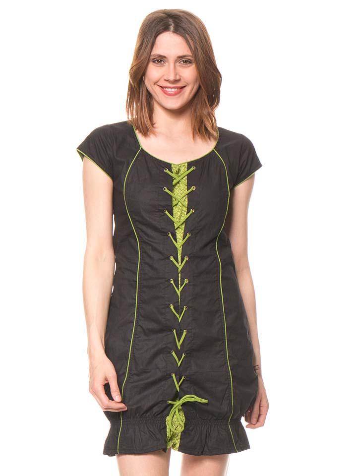 Bamboo´s fashion Kleid in Braun - 76%   Größe 34 Damen tops