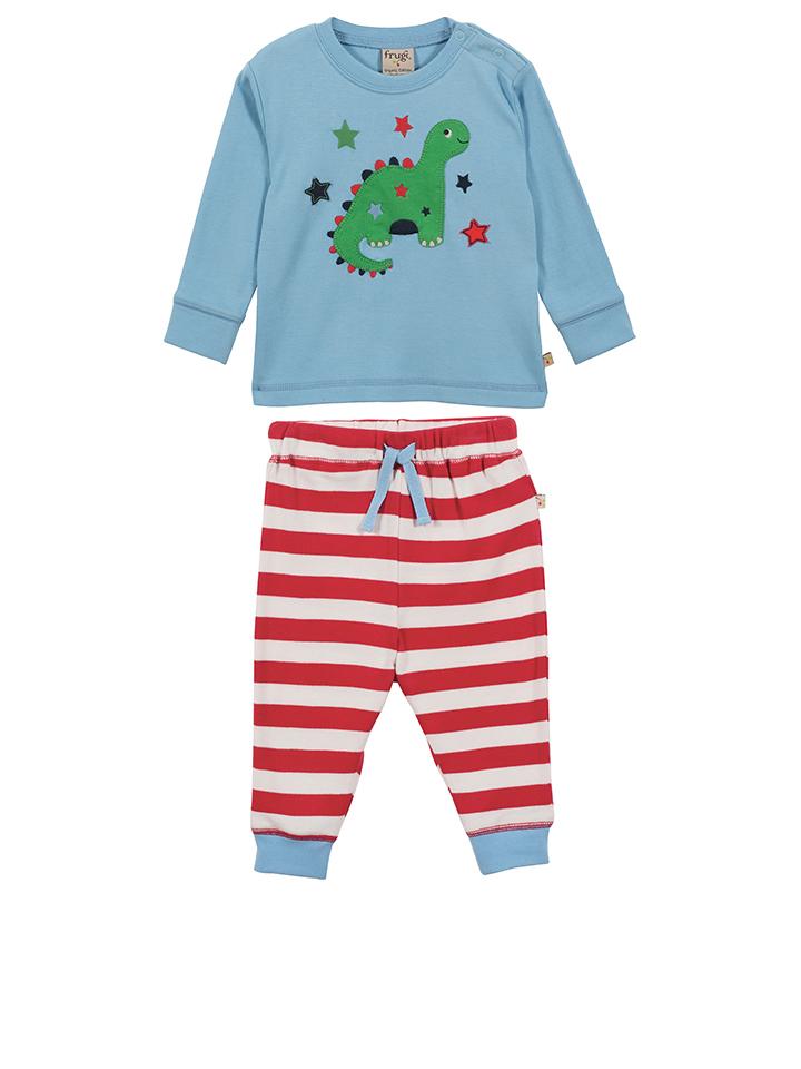 Frugi Pyjama ´´Thomas´´ in Hellblau -43 Größe 50-62 Pyjamas