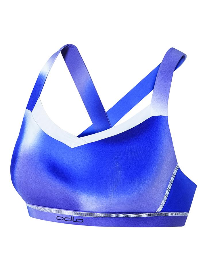 Odlo Sport-BH in Blau - 61% | Größe XS | Damenw...