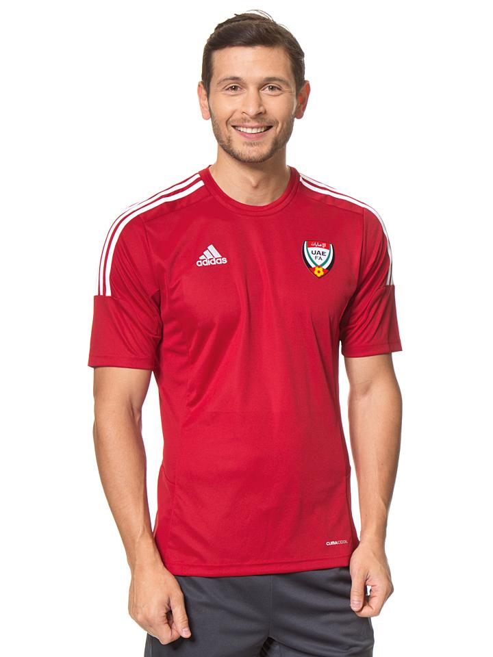 Ortrand Angebote Adidas Fußballtrikot in Rot - 57% | Größe M Herrenshirts