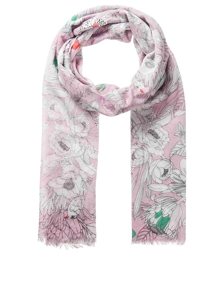 Codello Schal in Rosa - (L)200 x (B)100 cm -56%   Schals Sale Angebote Hohenbocka