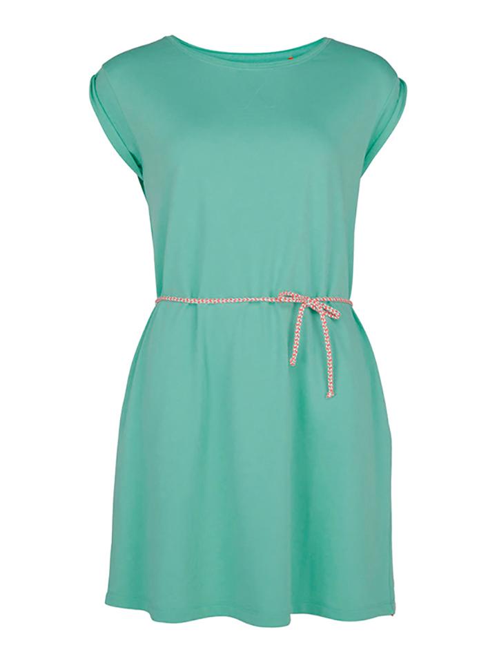 Chiemsee Kleid ´´Lucie´´ in Türkis -46% | Größe L Casual Kleider Sale Angebote Terpe