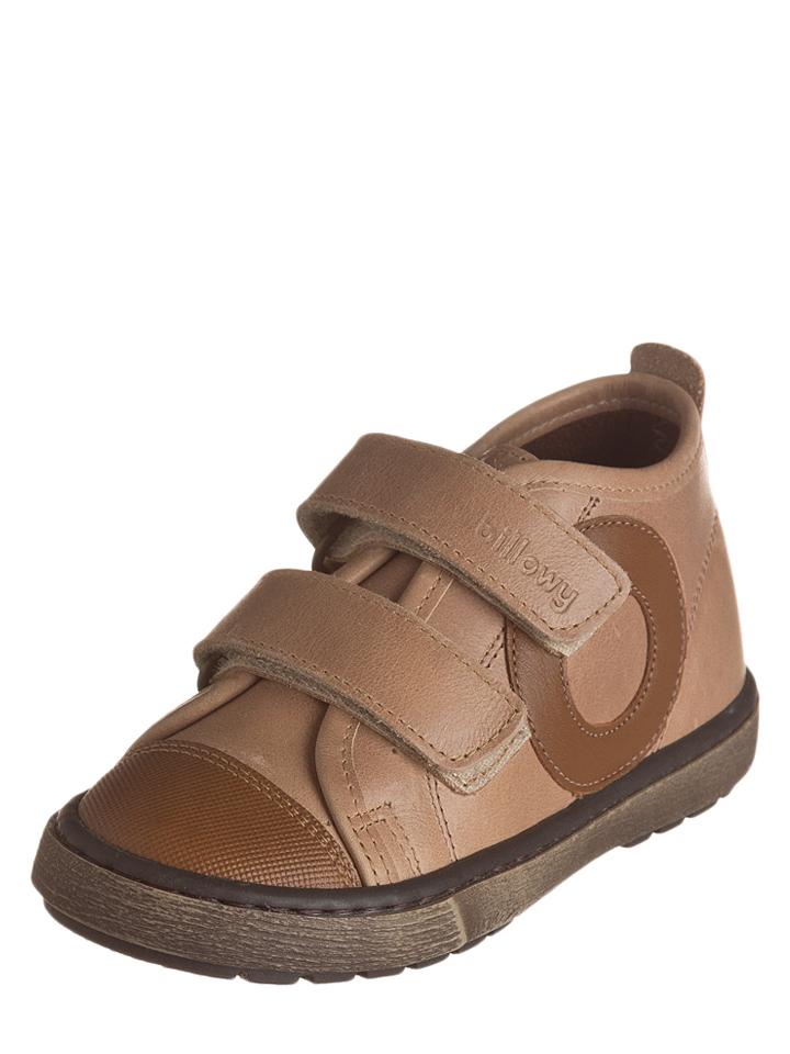 Billowy Leder-Sneakers in Hellbraun -46% | Größe 26 Sneakers Sale Angebote Lieskau