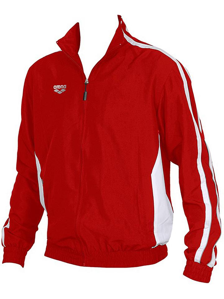 Arena Trainingsjacke ´´Prival´´ in Rot -47% | Größe XL Sweatjacken Sale Angebote Tettau