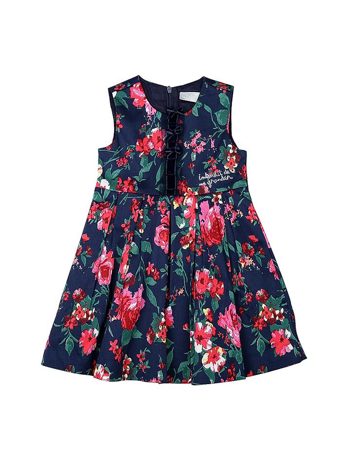 Interdit de me gronder Kleid ´´Dhalia´´ in Dunkelblau - 70% | Größe 68 Kinderkleider