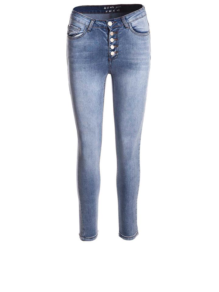 SisterS point Jeans ´´Mili´´ in Blau -57%   Größe W29 Sale Angebote Hohenbocka