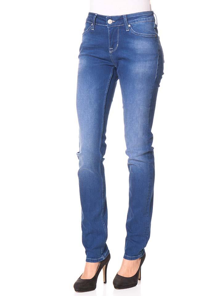 Mustang Jeans ´´Jasmin´´ - Slim fit in Blau -74% | Größe W25/L34 Sale Angebote Bagenz