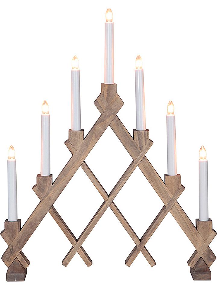 Guhrow Angebote Best Season Lichterbogen ´´Rut´´ in Hellbraun - (B)53 x (H)53 cm 28% | Weihnachtsdekoration