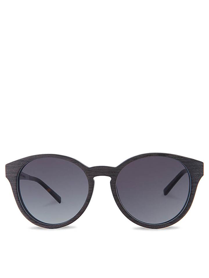 Kerbholz Unisex-Sonnenbrille ´´Leopold´´ in Schwarz - 60% | Damen sonnenbrillen - broschei