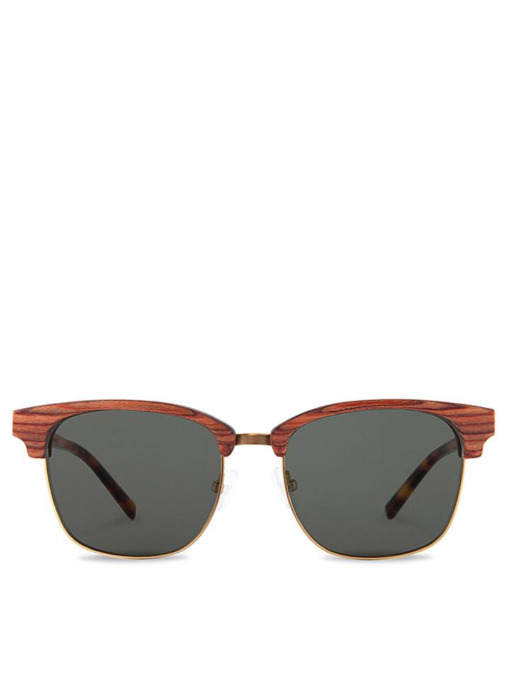 Kerbholz Unisex-Sonnenbrille ´´Albert´´ in Braun - 64% | Damen sonnenbrillen - broschei