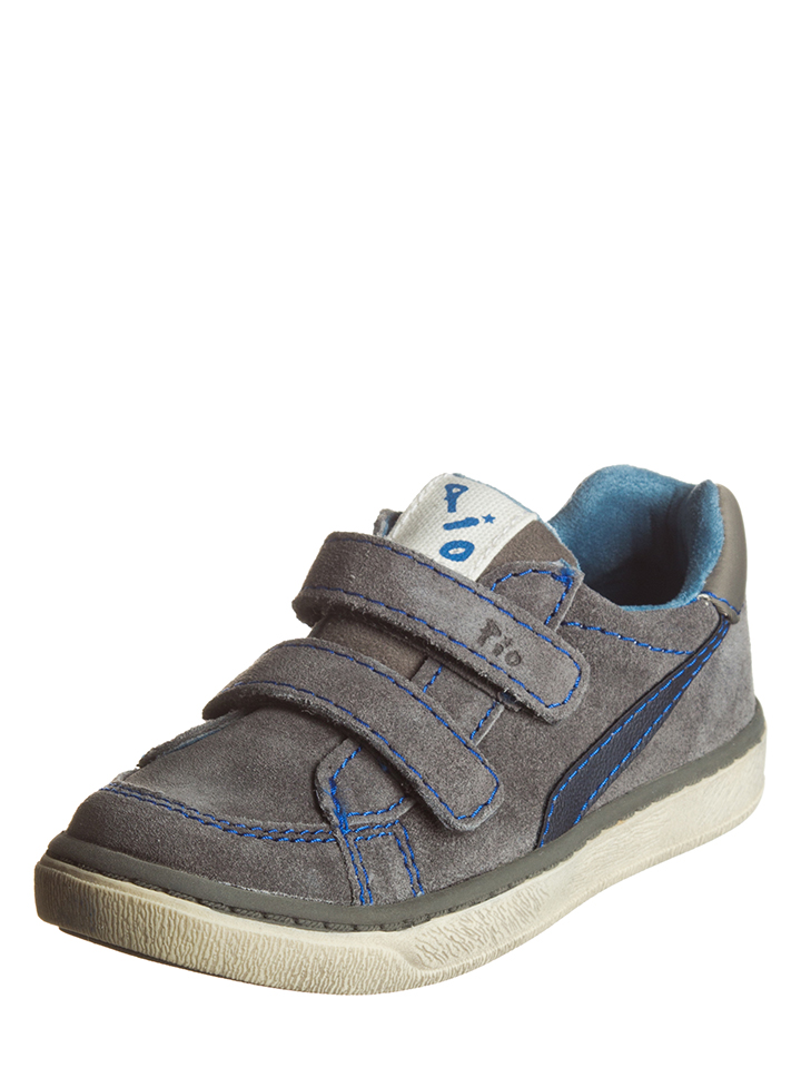 Pio Leder-Sneakers in Grau - 63% | Größe 32 Kindersneakers