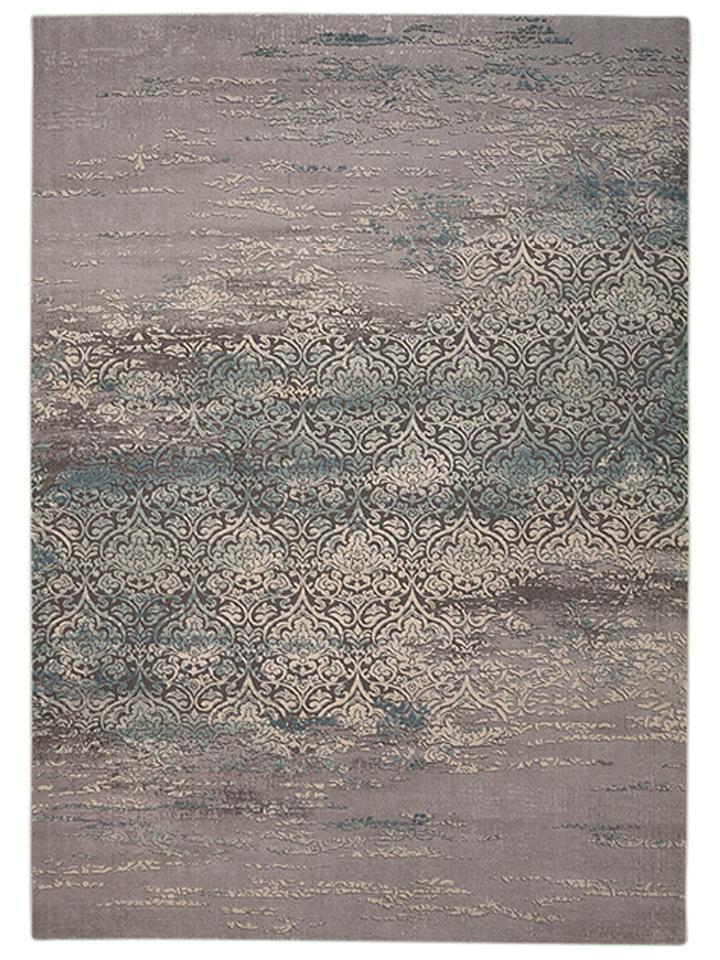 Hornow-Wadelsdorf Angebote - Kurzflor-Teppich ´´Thema´´ in Grau 66% | Größe 200x290 cm Teppiche fussmatten