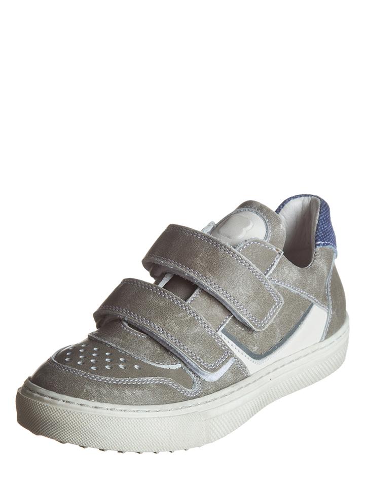BO-BELL Leder-Sneakers in Taupe -60% | Größe 33 Sneaker Low Sale Angebote Wiesengrund