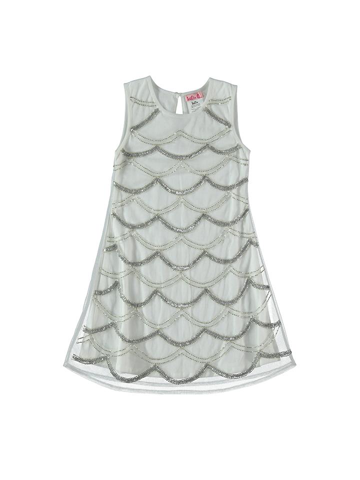 Lofff Kleid in Weiß -53% | Größe 92 Kleider