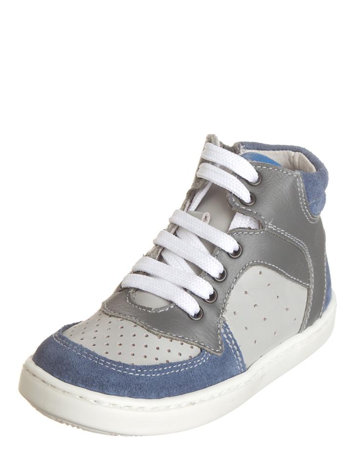 Griesen Angebote Kmins Leder-Sneakers in Blau - 55% | Größe 38 Kindersneakers