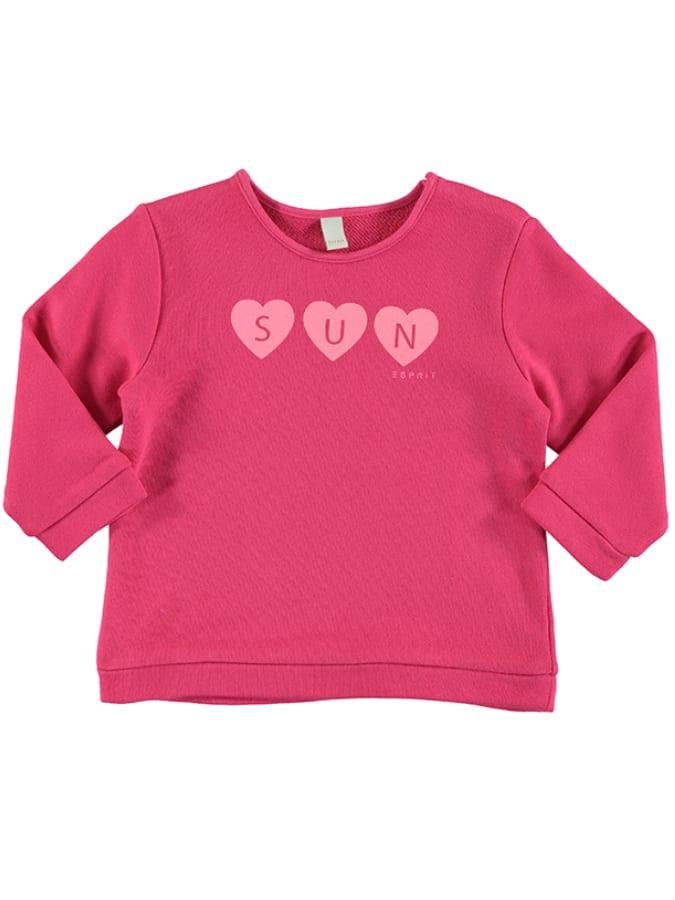 ESPRIT Sweatshirt in pink -33%   Größe 92   Swe...