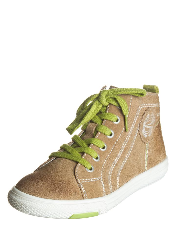 Richter Shoes Leder-Sneakers in Hellbraun -51% | Größe 32 Sneaker High Sale Angebote Bagenz