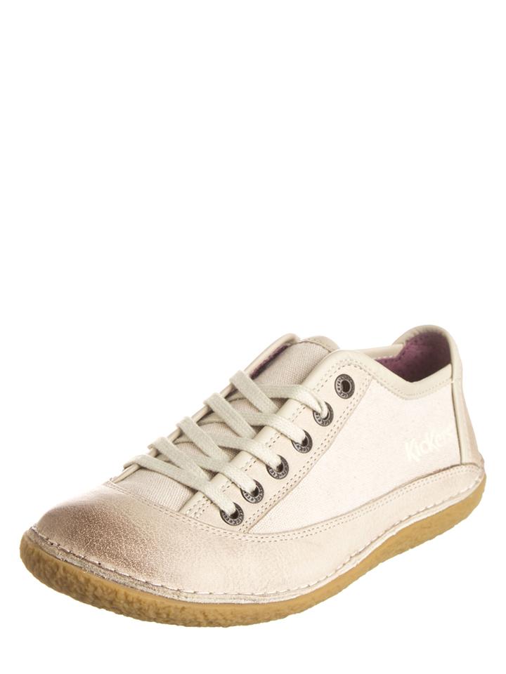 Kickers Sneakers ´´Hollyday´´ in Creme -37%   Größe 39 Sneaker Low Sale Angebote Hohenbocka