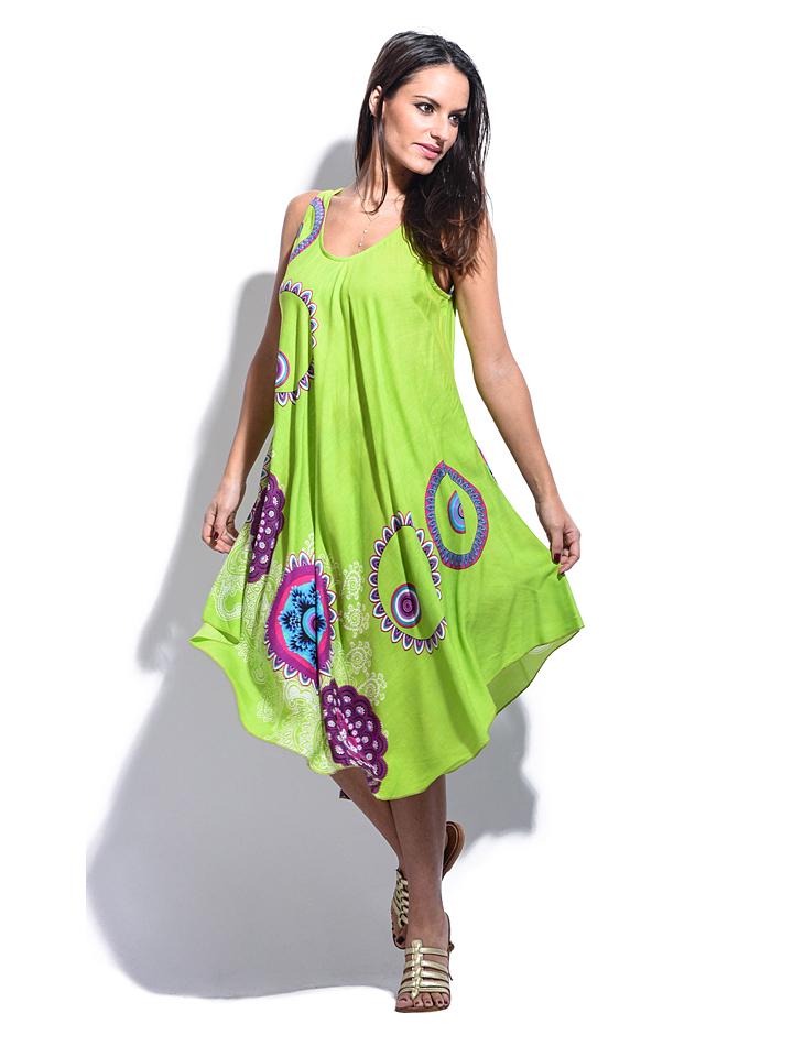 Namaste Kleid Capucine in grün -74% | Größe 34-38 | Kleider