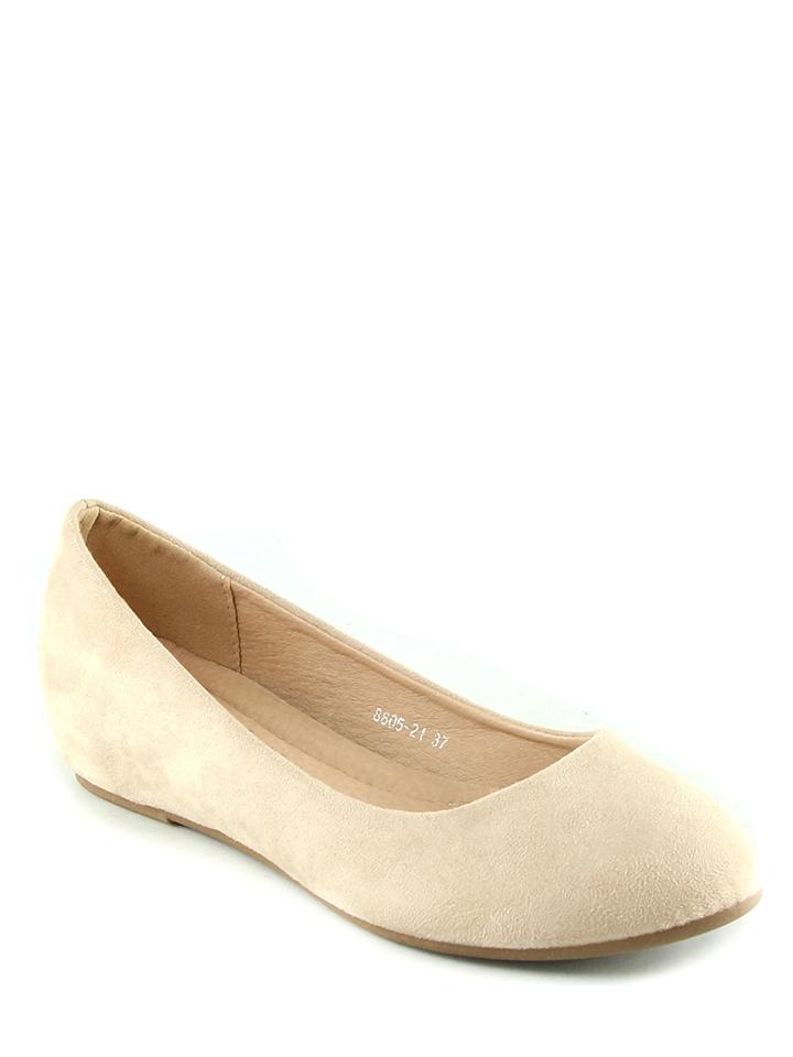 Sixth Sens Ballerinas in beige -51% | Größe 36 Sale Angebote Schwarzheide
