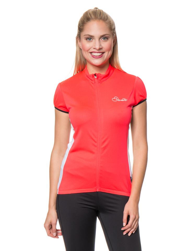 Dare 2b Fahrradtrikot ´´Decorum´´ in Neonpink -59% | Größe 44 T-Shirts Sale Angebote