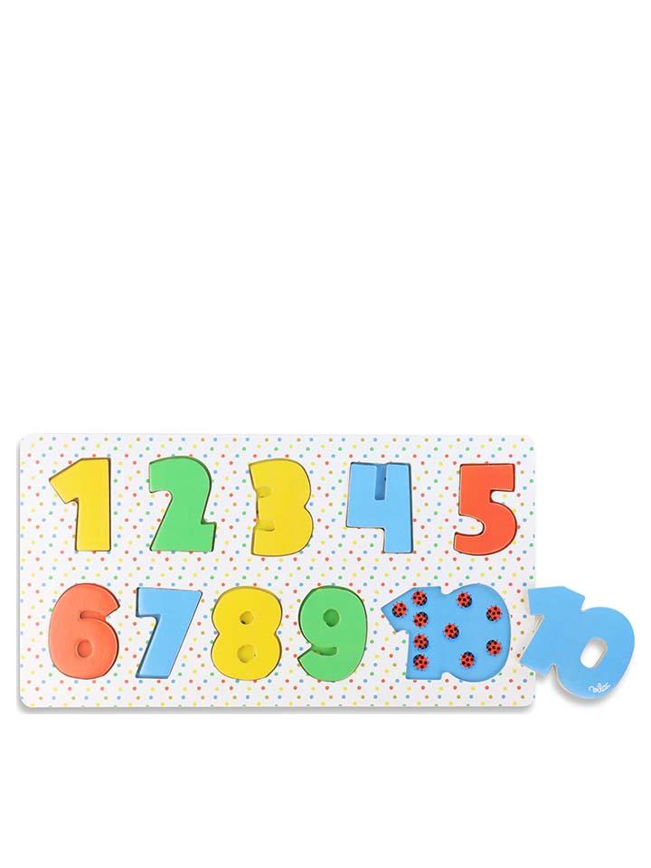 Vilac 11tlg. Einlegepuzzle ´´Zahlen´´ - ab 18 Monaten - 46% | Experimentieren spielzeug