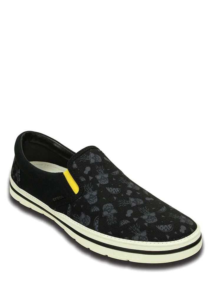 Crocs Slipper ´´Norlin´´ in Schwarz - 37%   Größe 45-46 Herren slipper