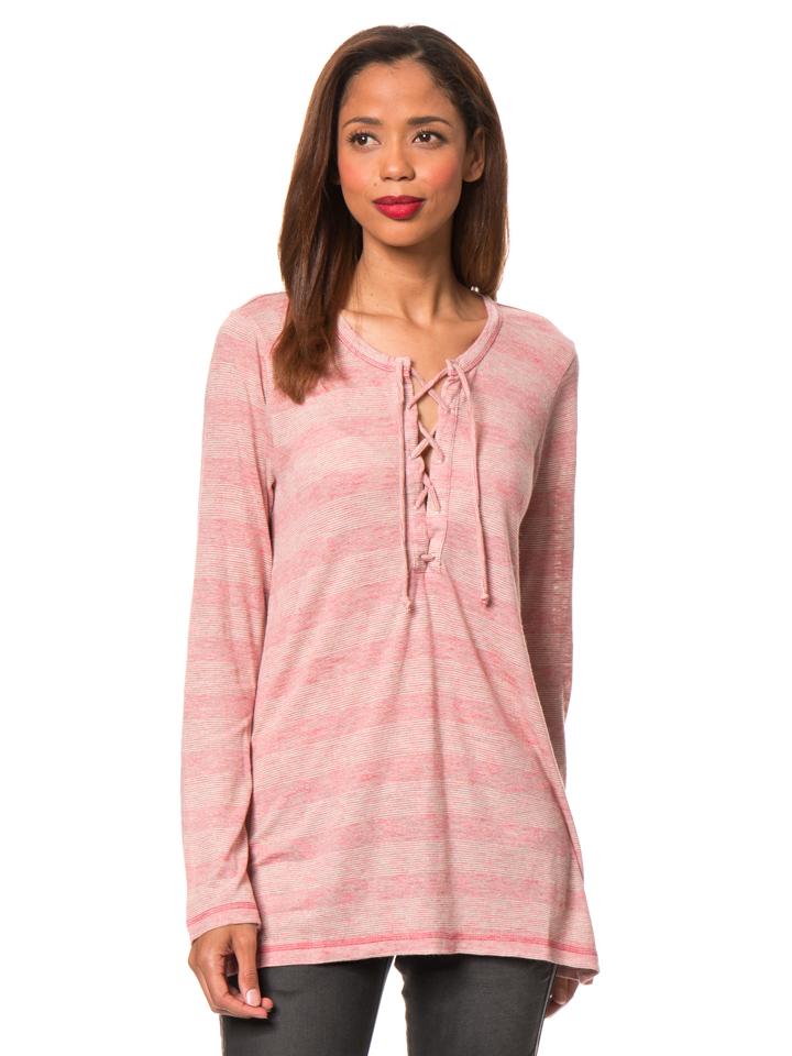Herrlicher Longsleeve ´´Nakoma´´ in Pink - 63% | Größe S Damen blusen