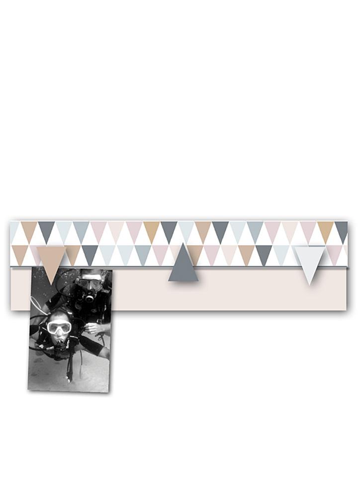 Titoutam – Bruit de Cadre Memoboard in creme - B 40 x H 10 x T 2 cm -44 Bilderrahmen