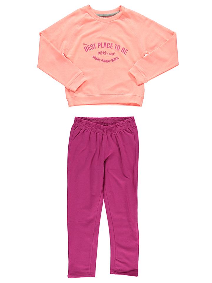 Color Kids 2tlg. Outfit ´´Thorolf´´ in Orange - 59% | Größe 152 Kinderpullover strick