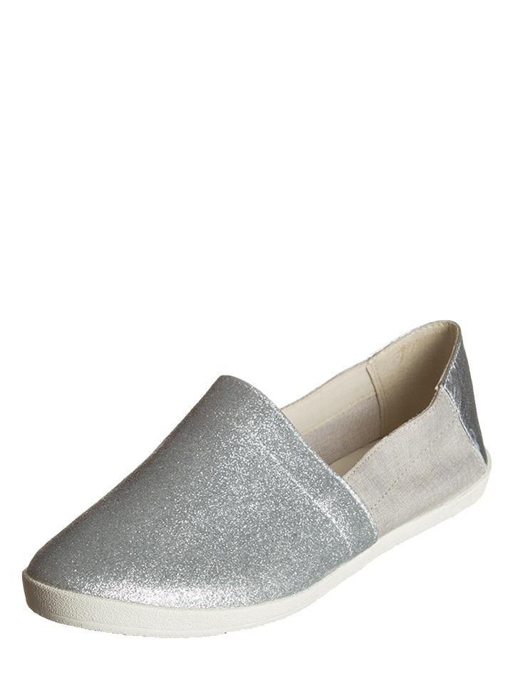 Vagabond Leder-Slipper ´´Lily´´ in Silber -49 Größe 36 Slipper