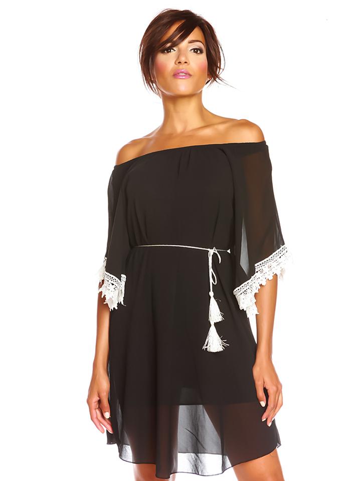 Scarlet Jones Kleid ´´Lilas´´ in Schwarz -71% | Größe S Kurze Kleider Sale Angebote Wiesengrund