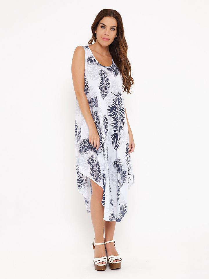Madison Harmonie Kleid ´´Judith´´ in Weiß - 76% | Größe L Damen kleider
